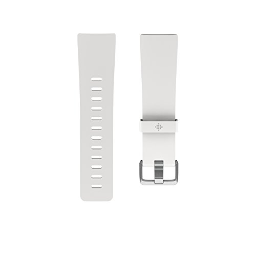 (Fitbit Versa Family Accessory Band, Official Fitbit Product, Classic, White, Small)
