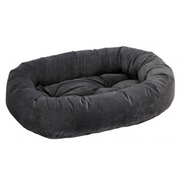 Bowsers Platinum Bed - Donut Dog Bed Size: X-Small, Color: Charcoal