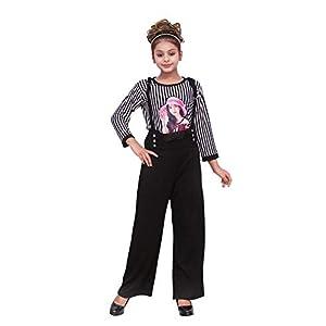 Fellamo Designer Striped Jumpsuit with top