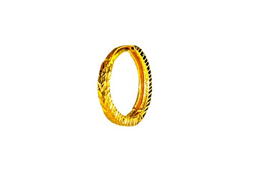 Buy Jj Jewellers 18k 750 Gold Nose Rings For Women Stylish Gold