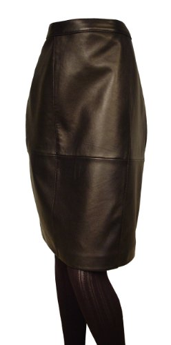 Paccilo Women 3024 PETITE Fashion Leather Skirt
