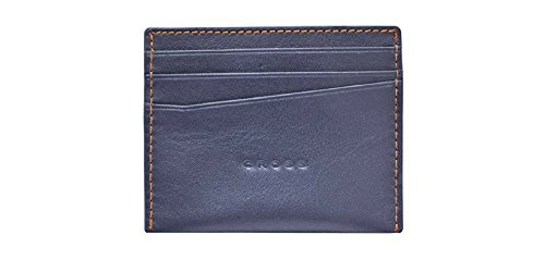 Cross Men's Genuine Leather Pocket Credit Card Case (NUEVA - Oroton Man Bag