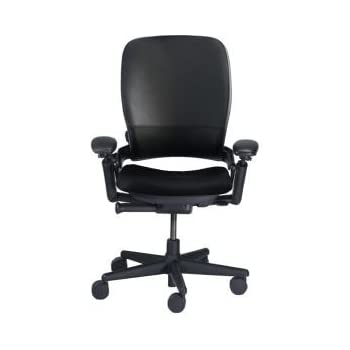 Amazon Com Steelcase Leap V1 High Back Leather Office