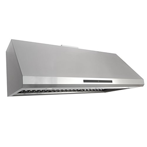 Cosmo COS-18U48 Under Cabinet Range Hood 1000 CFM Ductless Convertible