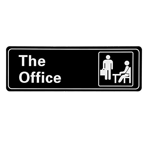 LUTER The Office Sign Acrílico Cartel Puerta Oficina ...