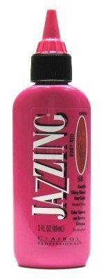 Clairol Jazzing #58 Ruby Red 3 oz. (Case of 6)
