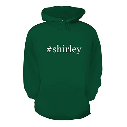 #Shirley - A Nice Hashtag Men's Hoodie Hooded Sweatshirt, Green, Large