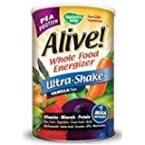 Nature's Way Alive Ultra-Shake Pea Protein Vanilla -- 34 oz