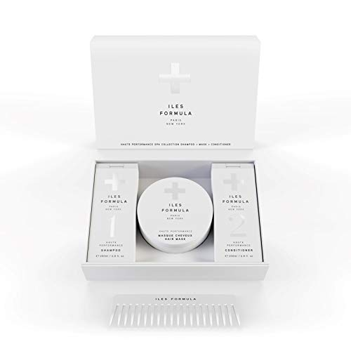 Iles Formula Spa Collection Box - Shampoo, Conditioner, Mask, Comb ()