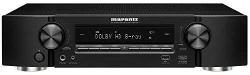 Marantz NR1510 Slim 5.2 Channels 4K Ultra Hd AV Receiver with Heos Built-in and Alexa Voice Control - Black