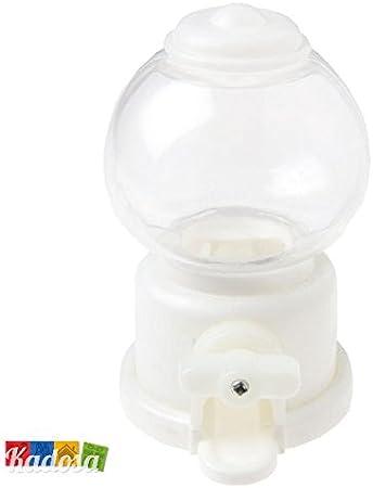 Mini Distributore Di Caramelle Vintage H 10 cm Colore Bianco