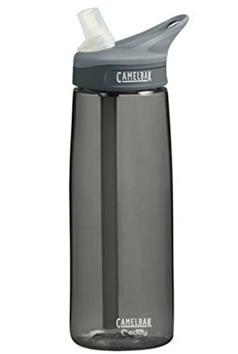 Camelbak Eddy Bottle .75L Charcoal Colors Camelbak Eddy Water Bottle BPA-FREE