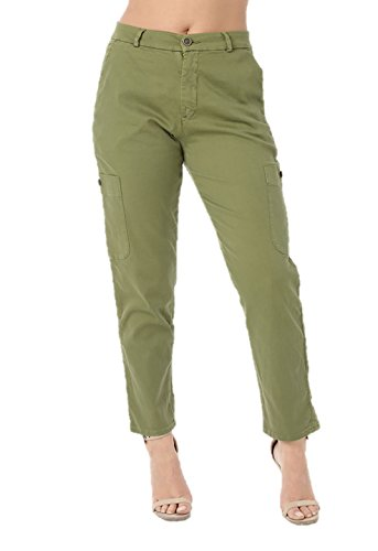 Verde Zara mujer Vaqueros para Ex Ax4nwRq7XY
