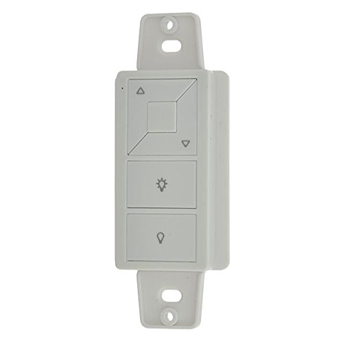 LEDwholesalers DM01 RF Wireless Surface-Mount Battery-Operated Push Button Dimmer Remote for Single Color Receiver, - Surface Mount Button