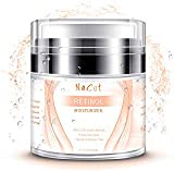 Retinol Cream Moisturizer For Face And Eye Area - With Retinol, Jojoba Oil, Vitamin E. Anti Aging Face Moisturizer Scar Cream Best Day And Night Cream 1.7 fl oz