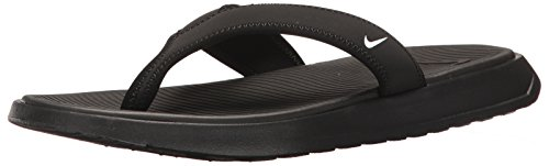 Nike Men's Ultra Celso Thong Sandals-Black/White-9