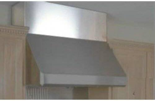 Campana de montaje en pared conducto para techo Altura: 8 , Tamaño: 60