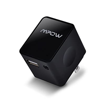 Mpow® Bluetooth 4.0 HD Music Audio Receiver Adapter Support Apt-X Technology for Home Stereo System CD Quality Sound - Adds Bluetooth Functionality to Non-Bluetooth Sound Systems. Stream Music with Startling Clarity from Your Mobile Device to Speakers an