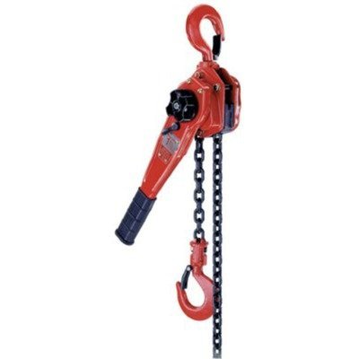 Coffing LSB-3000B-10 Steel LSB-B Model Ratchet Lever Hoist with Hook, 10' Lifting Height, 1 1/2 Ton Load ()