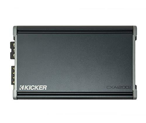 Kicker 46CXA12001 Car Audio Class D Amp Mono 2400W Peak Sub Amplifier CXA1200.1
