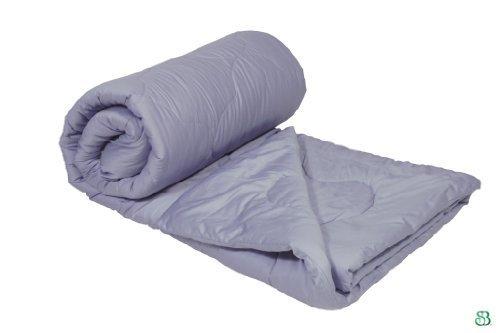 Certified Organic Merino Wool Comforter LAVENDER in Full/Queen Size, 86x86'' by Sleep & Beyond®