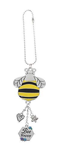 Charms Baby Bee (G Ganz Rear View Mirror Zinc Car Charm Bee Sweet (Bee Happy))