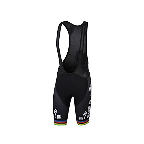Sportful Bora Bodyfit Pro Classic Bib Short - Men's World Champion, L from Sportful
