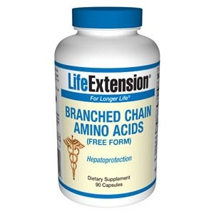 Cheap Life Extension, BRANCHED CHAIN AMINO ACIDS 90 CAPSULES