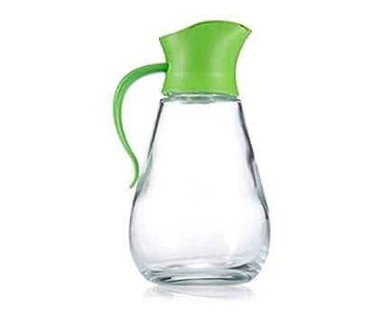 FJXLZ® Automático de apertura y cierre de aceite de vidrio Puede a prueba de fugas Botellas de Condimento Botellas de vinagre de salsa de soja Pequeño y ...