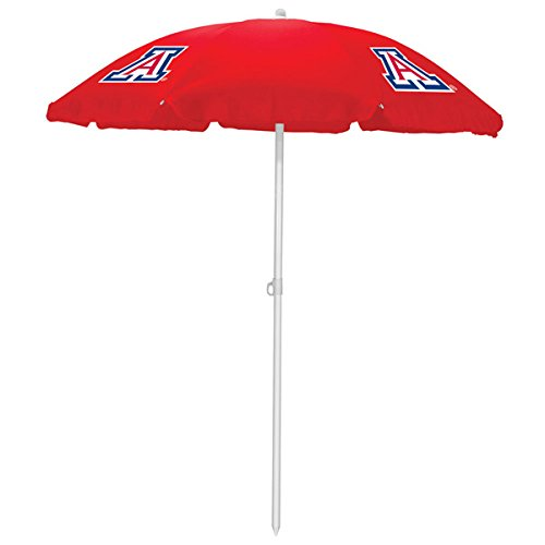 picture of NCAA Arizona Wildcats Portable Sunshade Umbrella, Red