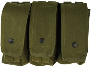 AR-15/AK-47 Triple Mag Pouch Olive Drab (Sks Magazine Steel compare prices)