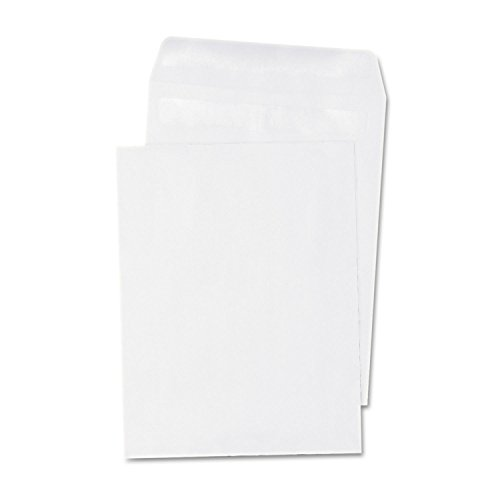 Universal 42100 Self Seal Catalog Envelope, 6 x 9, White, 100/Box