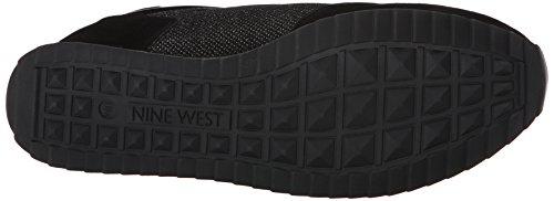 Nine West Telly ante de la zapatilla de deporte de la manera Black/black