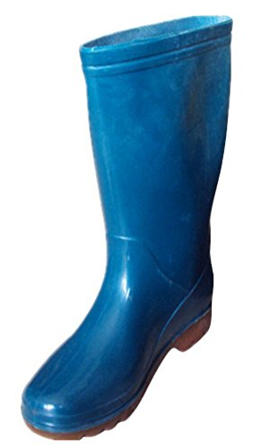 IDIFU Women's Comfy Antiskid Soft Bottom Tall Wellies Kne...