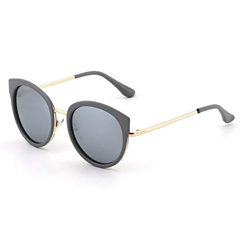 protección de retro Gafas sol redondas polarizadas NIFG de de viaje sol UV gafas pZXFqP
