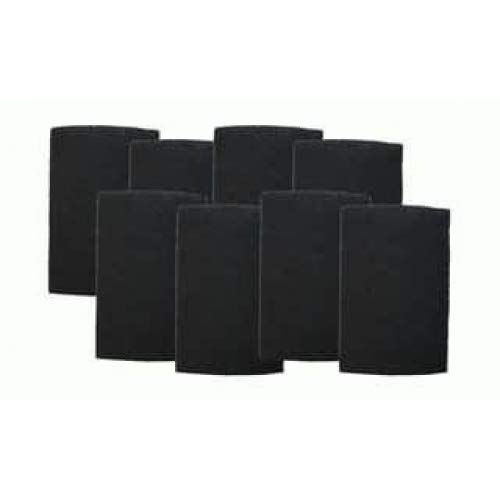 """Air Filter Factory 8-Pack Compatible Replacement for Holmes Bionaire HAPF60, HAPF60PDQ-U, A1260C Charcoal Carbon Air Purifier Pre-Filter 6"""" x 9-1/4"""" x 1/4"""" RP980"""