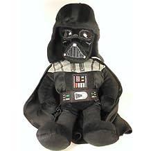 "Plush Backpack - Star Wars Darth Vader 20"" Soft Doll Bag Toys Boys 086118-2"
