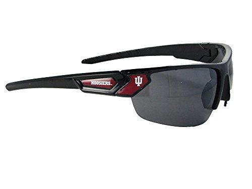 Indiana Hoosiers Black Maroon Sport Mens Womens Sunglasses IU Style - Style Hoosier Glass