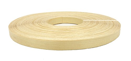 Birch Wood Veneer Edge Banding Preglued 13/16