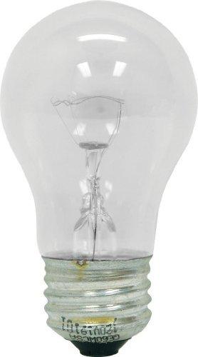 Ge Lighting 76580 Appliance 40-watt, 415-lumen A15 Light Bulb with Medium Base, 12-pack