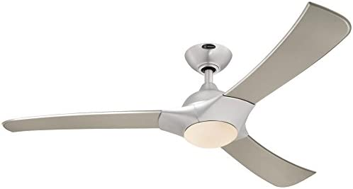 Westinghouse Lighting 7800200 Techno 52-Inch Brushed Aluminum Indoor LED Ceiling Fan