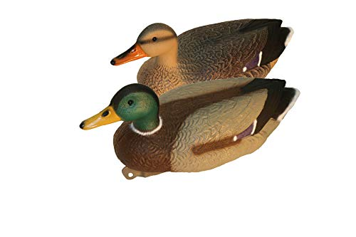 G&H Super Magnum Fixed Head Mallard Duck Decoy (4 Drake/2 Hens)