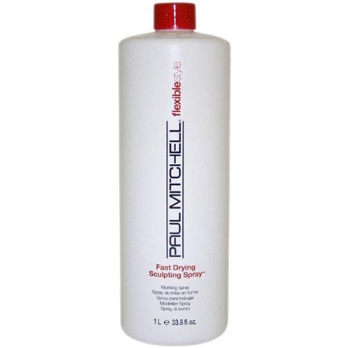 Fast Dry Sculpting Spray Unisex Hair Spray by Paul Mitchell, 33.8 Ounce
