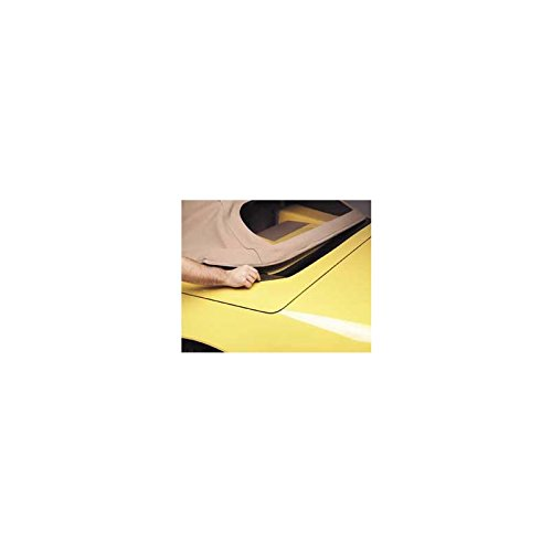 Eckler's Premier Quality Products 25102846 Corvette Deck Lid Protector Convertible Top Black