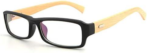 JIU-GLASSES Gafas Gafas for Las Patas del Espejo de Madera ...