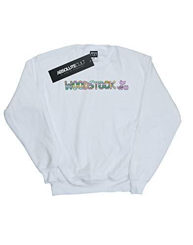 Aztec Sweat Cult Blanc shirt Logo Woodstock Femme Absolute wzTtCqOBxw