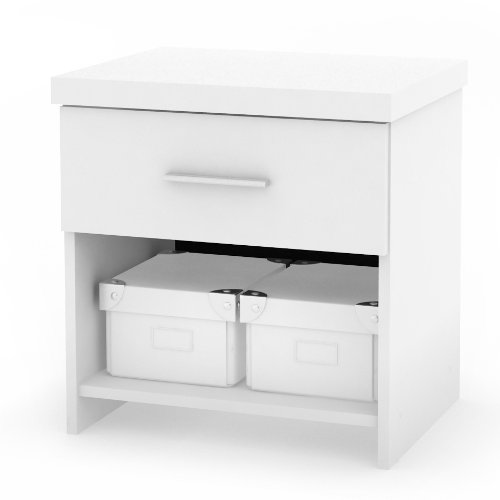 Sonax N-011-LWB Willow Night table in Frost White