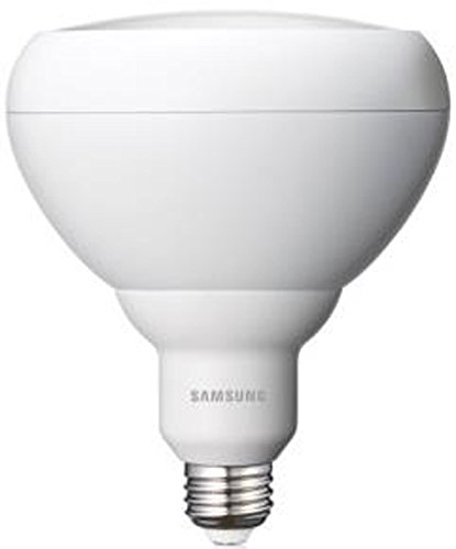 Samsung SI-P8V181GF1US - 15.5 Watt - Dimmable LED - BR40 Reflector Lamp - Wide Flood 60 Degree - 3000K Warm White - 965 Lumens - 90 Watt Equal - E26 Medium Base - 120 Volt