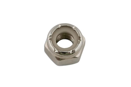 Connect - 33125 Steel UNF Nyloc Nuts 5/8in. Pack 50