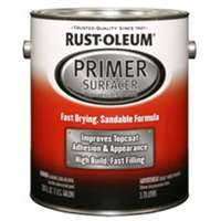 Rust Oleum 249332 Primer Surfacer, Gallon, Gray (Pack of 2)